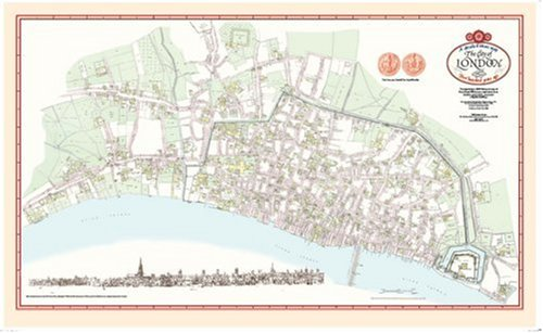9781873590782: The City of London Map 1520: 500 years ago, Henry VIII's reign, The Most Detailed Map of Late Medieval London, rolled for framing