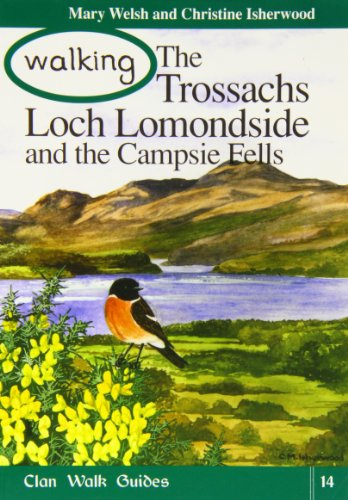 9781873597217: Walking the Trossachs,Loch Lomondside and the Campsie Fells