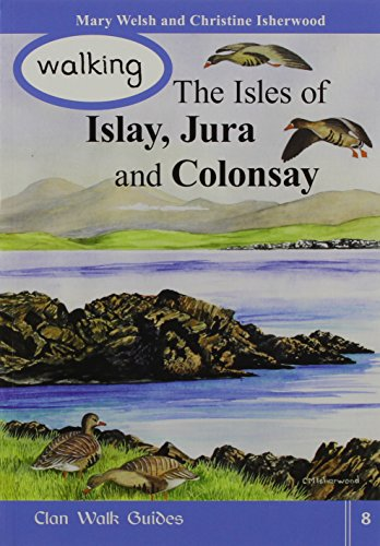 9781873597255: Walking the Isles of Islay,Jura and Colonsay
