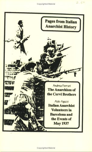 9781873605226: Pages From Italian Anarchist History