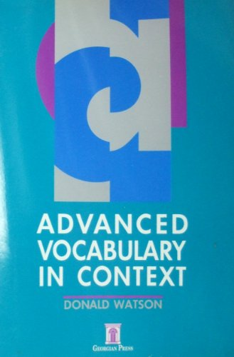 9781873630129: Advanced Vocabulary in Context