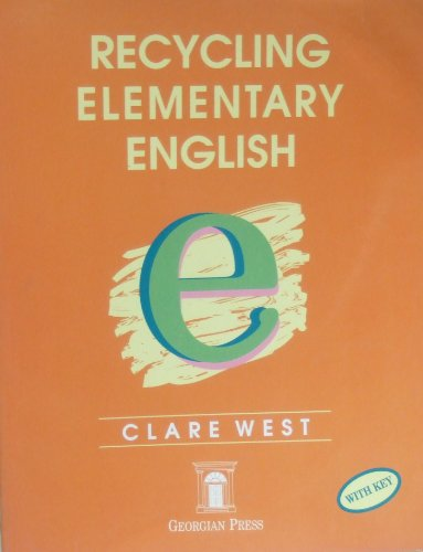9781873630358: Recycling Elementary English: With Key