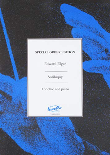 9781873690079: SOLILOQUY FOR SOLO OBOE AND PIANO (Acuta Music Late Elgar Editions)
