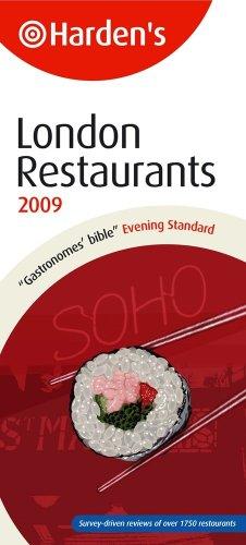 London Restaurants (Hardens): Harden, Richard; Harden, Peter