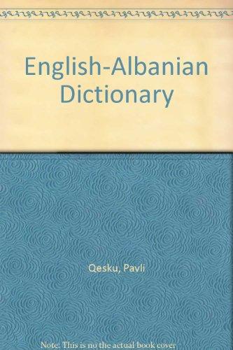 9781873722701: English-Albanian Dictionary