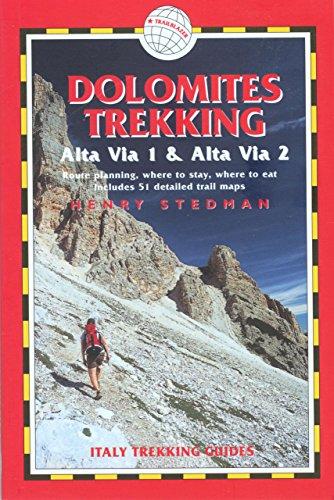 9781873756836: Dolomites Trekking - AV1 & AV2, 2nd: Italy Trekking Guides (Trailblazer Italy Trekking Guides)