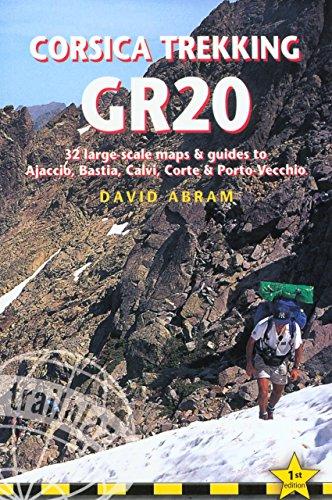 9781873756980: Corsica Trekking - GR20 (Trailblazer Trekking Guides)