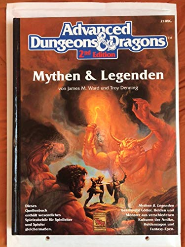 9781873799079: Advanced Dungeons & Dragons 2nd Edition: Legends & Lore