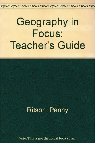 9781873929926: Geography in Focus Teacher's Guide