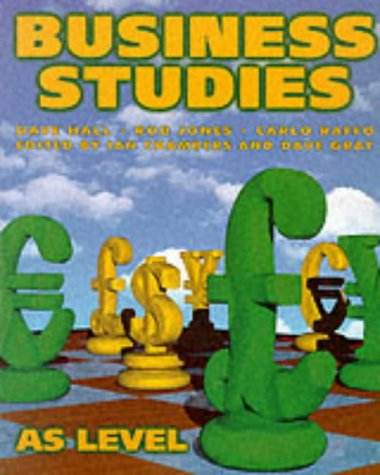 9781873929995: Business Studies: AS Level
