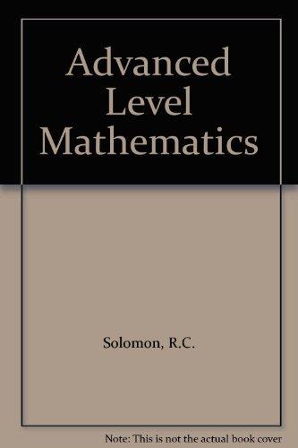 9781873981245: Advanced Level Mathematics