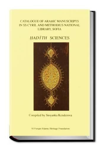 Catalogue of Arabic Manuscripts in SS Cyril: Stoyanka Kenderova; M