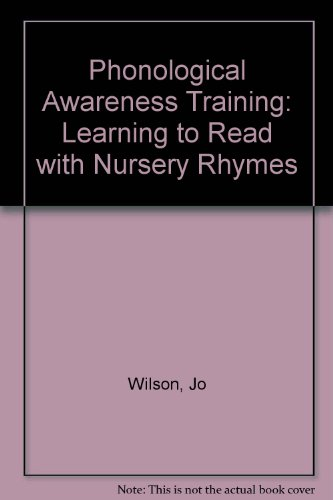 9781874026167: Phonological Awareness Training: Learning to Read with Nursery Rhymes