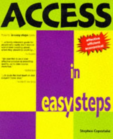 9781874029571: Access 95 In Easy Steps (In Easy Steps Series)