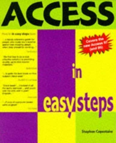 9781874029786: Access In Easy Steps (In Easy Steps Series)