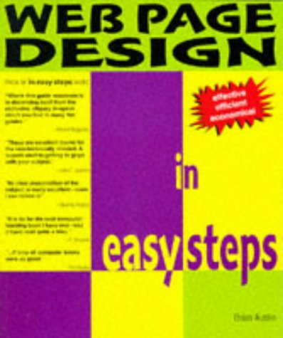 9781874029915: WEB PAGE DESIGN IN EASY STEPS (IN EASY STEPS)