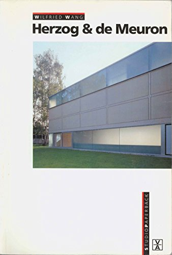 9781874056355: Herzog and de Meuron (Studio Paperback) (English and German Edition)