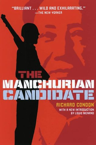 Image result for the manchurian candidate book cover