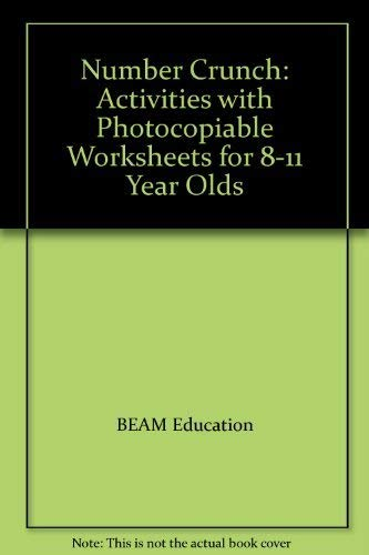 9781874099796: Number Crunch: Activities with Photocopiable Worksheets for 8-11 Year Olds