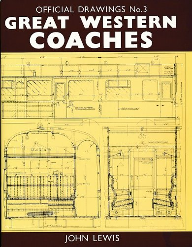 9781874103424: Official Drawings: Great Western Railway Coaches No. 3