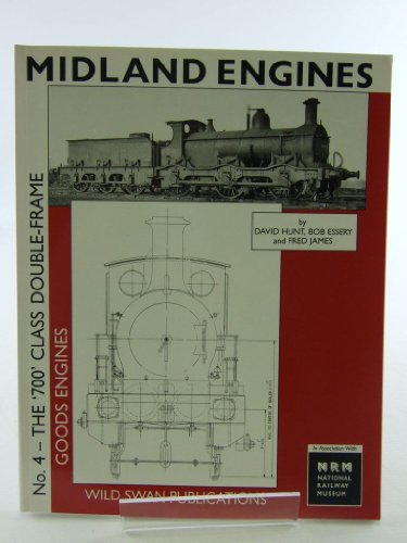 9781874103738: Midland Engines: 700 Class Double Frame Goods Engines No. 4