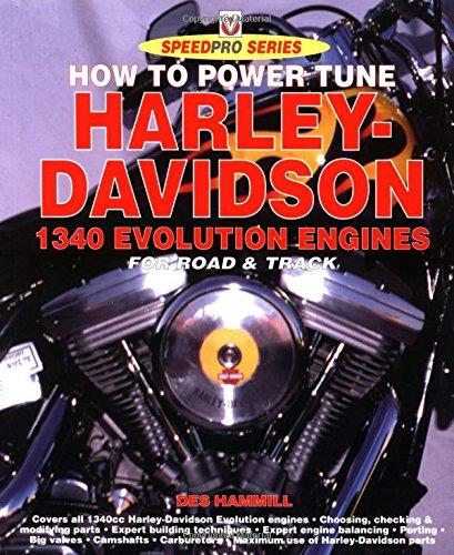 9781874105886: How to Build & Power-Tune Harley Davidson Evolution Engines (Speedpro Series)