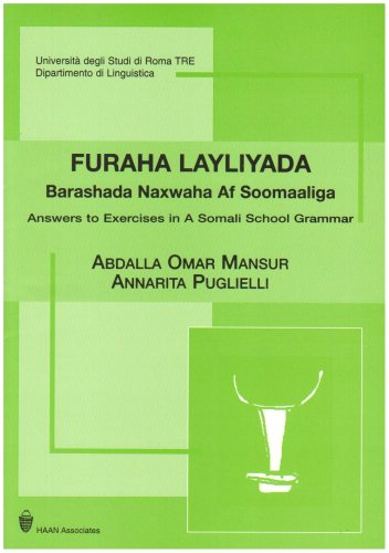 9781874209539: Answers to Exercises in A Somali School Grammar