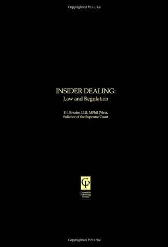 9781874241027: Insider Dealing