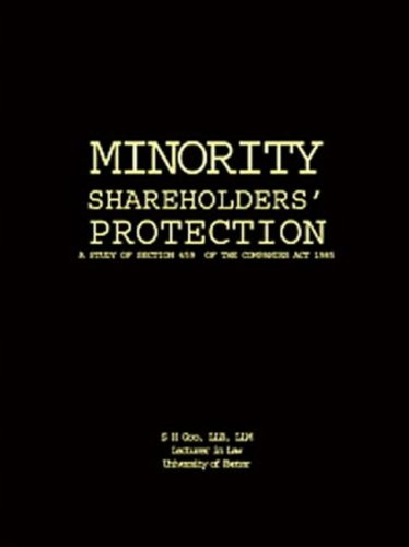 9781874241041: MINORITY SHAREHOLDERS PROTECTION