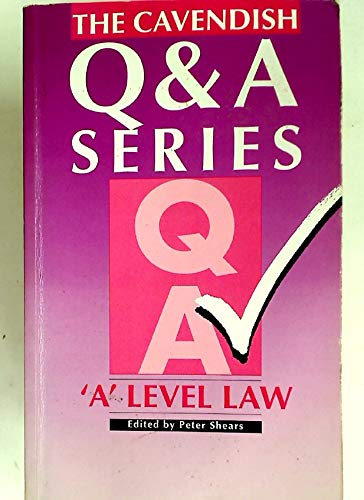 A-Level Law (Q & A): Penny Booth, Mary