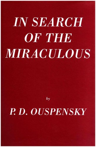 9781874250760: In Search Of The Miraculous: (Fragments of an Unknown Teaching)