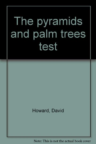 9781874261155: The pyramids and palm trees test
