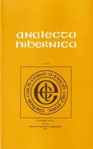 9781874280521: Analecta Hibernica: v. 29