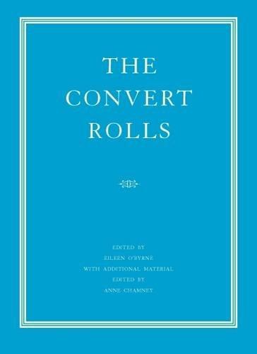The Convert Rolls: The Calendar of the