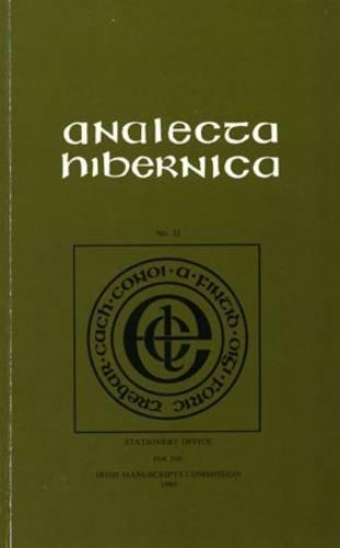 Analecta Hibernica 31: Vol 31