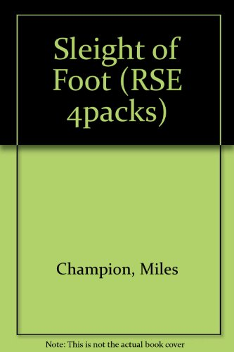 9781874400103: Sleight of Foot (RSE 4packs)