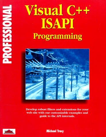 9781874416661: Professional Visual C++ Isapi Programming