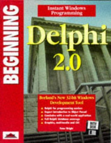 9781874416746: Beginning Delphi 2.0