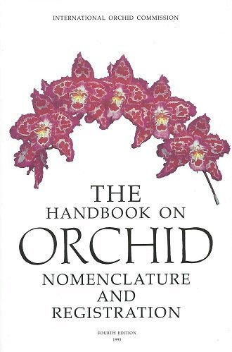 9781874431022: Handbook on Orchid Nomenclature and Registration