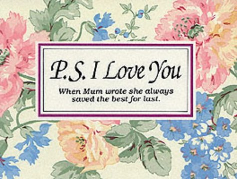 P.S. I Love You (Gift books) (1874504016) by H.Jackson Brown
