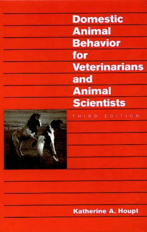 9781874545965: Domestic Animal Behavior for Veterinarians and Animal Scientists