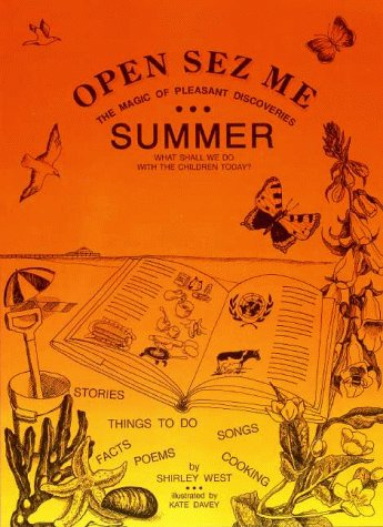 9781874548102: Open-Sez-Me: Summer: The Magic of Pleasant Discoveries