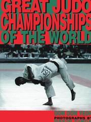 9781874572206: Great Judo Championships of the World