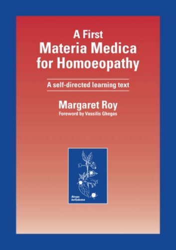 9781874581178: First Material Medical for Homoepathy