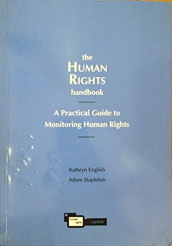 9781874635253: The human rights handbook: A practical guide to monitoring human rights