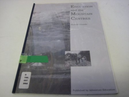 9781874637196: Education and the Mountain Centres