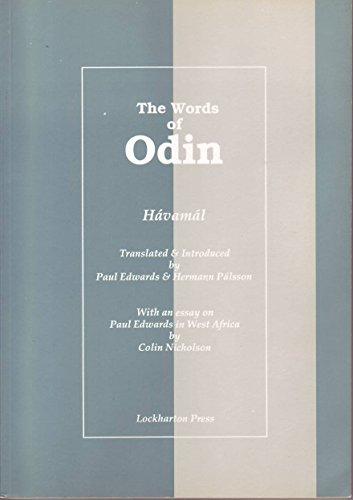 The Words of Odin: Havamal (1874665109) by Paul Edwards; Hermann Palsson