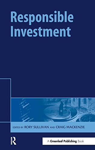 9781874719038: Responsible Investment (The Responsible Investment Series)