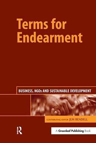 9781874719298: Terms for Endearment: Business, NGOs and Sustainable Development