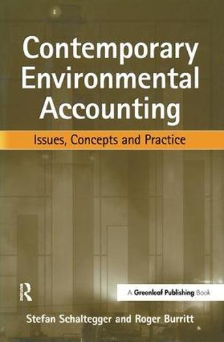 9781874719342: Contemporary Environmental Accounting: Issues, Concepts and Practice